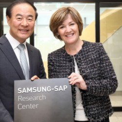 Samsung teamed up with SAP